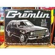 アメリカンブリキ看板 AMC Gremlin