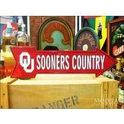 アメリカンブリキ看板 Oklahoma Sooners 道標