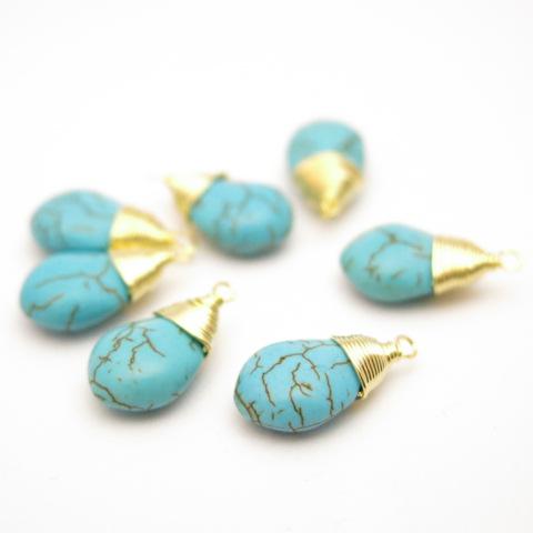 ☆天然石のパーツ☆turquoise(トルコ石) ネックレス、ピアス、イヤリングが簡単に作れます。ファッション雑貨 卸株式会社  SNM|問屋・仕入れ・卸・卸売のNETSEA