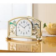 【代引不可】 シチズン 置時計(アラーム付) 目覚まし時計