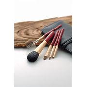 【代引不可】 熊野化粧筆セット 筆の心 ブラシ専用ケース付き メイク雑貨