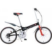 【代引不可】 スウィツスポート 20型アルミ折りたたみ自転車(7段変速) 本体