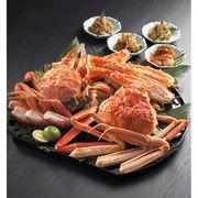 【代引不可】 三大蟹三昧と、3種の松前漬け カニ
