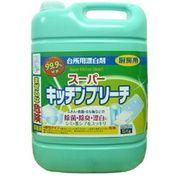 【業務用】スーパーキッチンブリーチ 塩素系漂白剤(塩素濃度6%)
