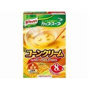 【代引不可】AJINOMOTO 味の素 クノール カップスープ コーンクリーム 8袋 x6