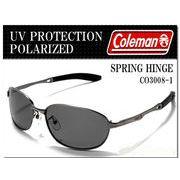 Coleman コールマン 偏光レンズ スポーツサングラス UVカット ◇ CO3008-1