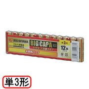 アイリスオーヤマ 大容量アルカリ乾電池 単3形12本パック LR6IRB-12S