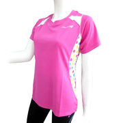 ●☆DOUBLE3レディース (Ladies') ショートスリーブシャツ(DW5280)ピンク50167