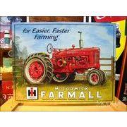 アメリカンブリキ看板 トラクター -FARMALL M-