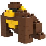 格安☆子供も大人もハマるブロック◆ホビー・ゲーム◆ブロックおもちゃ◆積み木◆玩具◆オランウータン
