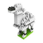 格安☆子供も大人もハマるブロック◆ホビー・ゲーム◆ブロックおもちゃ◆小さい◆積み木◆玩具◆アルパカ
