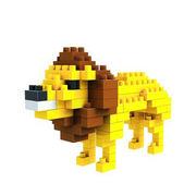 格安☆子供も大人もハマるブロック◆ホビー・ゲーム◆ブロックおもちゃ◆積み木◆知育玩具◆獅子