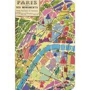 LETTERBOX A6ノート PARIS×地図