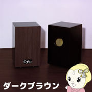 TCA-3-DB 友澤木工 カホン(スナッピー付・響線8本) ダークブラウン