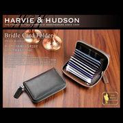Harvie and Hudson カードケース ブラック HA-1006-BK