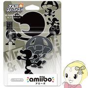 amiibo 大乱闘スマッシュブラザーズシリーズ NVL-C-AABX Mr.ゲーム&ウォッチ
