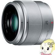 パナソニック デジタルカメラ 交換レンズ LUMIX G 25mm/F1.7 ASPH. H-H025-S [シルバー]