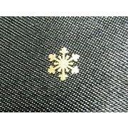 雪の結晶メタルパーツ20個