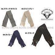 【ハイランド2000】 016 スカーフ 全4色 メンズ&レディース