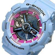 カシオ Gショック Sシリーズ ユニセックス 腕時計 GMA-S110F-2A ブルー