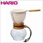 HARIO(ハリオ)ドリップポット ウッドネック オリーブウッド 1~2杯用 DPW-1-OV