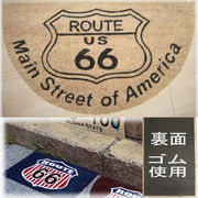 ���R�R�i�c���փ}�b�g���R�C���[�}�b�g���yCOIR MAT�z���[�g�U�U��Main Street of America Route66��