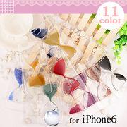 【砂時計デザインiphone6ケース】砂時計カラフルで、アクセントとしても大活躍♪オシャレ全11色♪