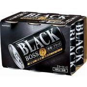 【代引不可】SUNTORY サントリー ボス 無糖ブラック 6缶パック 185gX6 x5