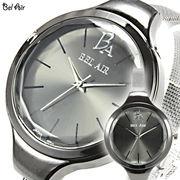 ラウンドフェイス カットガラス 腕時計 JH41【レディース】