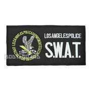 ワッペン Los Angeles SWAT (約19.5x10cm) LA小★
