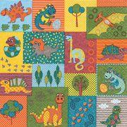 Paper+Design ペーパーナプキン 恐竜
