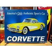 アメリカンブリキ看板 コルベット -'58 Corvette-