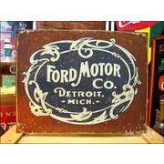 アメリカンブリキ看板 フォード/ford 歴史的なロゴ