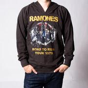 ヴィンテージ風 ロックパーカー Ramones ラモーンズ Road To Ruin Tour 1979