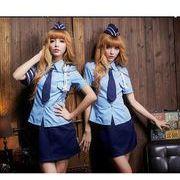 ステージ衣装 婦警 女警官 警察 コスプレ コスチューム ハロウィン仮装 bwn0211-1