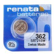 RENATA 362 SR721SW 0%Mercury