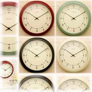 【SALE/値下げ】★ティンウォールクロック♪Kelp(ケルプ)【壁掛時計】