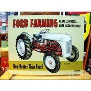 アメリカンブリキ看板 フォードファーミング -Ford Farming 8N-