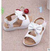 【子供靴】★可愛いデザインの子供靴&シューズ★花付きサンダル★女の子★2色★サイズ21-31