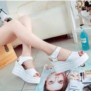 【即納】3ソール厚底サンダル/靴全2色★v-ali-426スポーツサンダル/スポサン/レディース