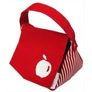 コトノスタイル フルーツシリーズ おむすびポーチ りんご赤