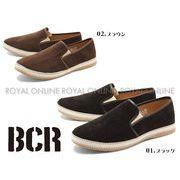 【BCR】 BC-469 ステッチ コーデュロイ スリッポン 全2色 メンズ
