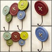 【上代変更/値下げ】お洒落で可愛い人気のボタンフック♪【Button Wood Hook】