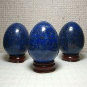 観賞用ラピスラズリ卵型磨き石