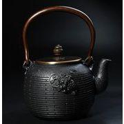 鉄器 急須 伝統工芸 手作り 鉄分補給 鉄瓶 SY-019