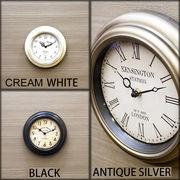 新商品【Station Clock】ヨーロッパ風★掛け時計 ステーションクロック ★ラウンドS♪