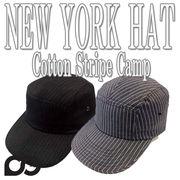 NEWYORK HAT#6082 Cotton Stripe Camp  11852