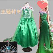 アナと雪の女王風 シンデレラ風 ドレス キッズ プリンセス 姫 ハロウィン クリスマス