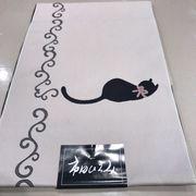 猫柄 ポリエステル八寸名古屋帯 日本製 入荷しました。