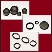 【新商材CP】CCB樹脂 光沢なしマットカラー加工 ブラック幾何パーツ